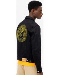 KENZO 'phoenix' Denim Jacket - Black