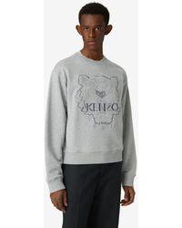 KENZO Sweatshirt Tiger - Grau