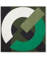 KENZO Flag Silk Square - Green
