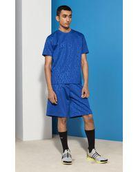 KENZO Embossed Tech Shorts - Blue