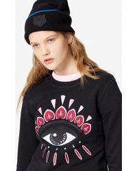 KENZO Eye Sweatshirt - Black