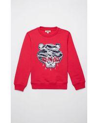 KENZO Sweatshirt Tiger 'Tiger Stripes' - Mehrfarbig