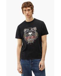 KENZO T-Shirt Tiger - Schwarz