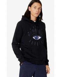 KENZO Sweatshirt à capuche Eye - Noir