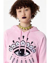KENZO Eye Hoodie - Pink