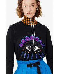 KENZO Sweatshirt Eye - Noir