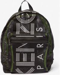 KENZO - Mesh Panelled Backpack - Lyst