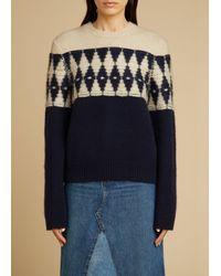 Khaite The Romme Sweater - Blue
