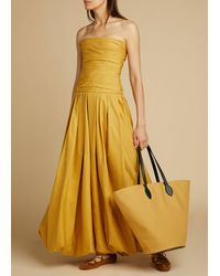 Khaite The Ingrid Dress - Yellow