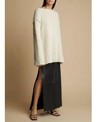 Khaite The Jema Sweater - White