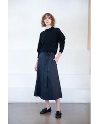 Tibi - Back Wrap Skirt - Lyst