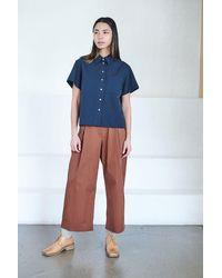 Studio Nicholson Okeefe Shirt - Blue