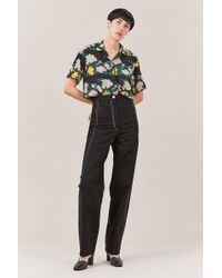 Lemaire - High Waisted Pants - Lyst