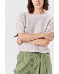 Apiece Apart Serra Cropped Sweater - Multicolor