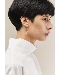 Sophie Buhai - Small Egg Hoop Earrings - Lyst