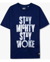 Kiikii Osaka Kiikii® Stay Mighty Tee - Blue