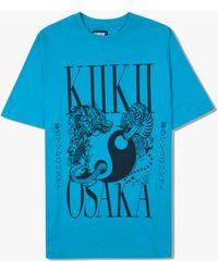 Kiikii Osaka Kiikii® Chaos & Order Tee - Blue
