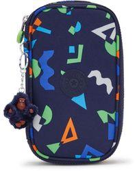 Kipling Medium Pencase Holds Up To 50 Pens - Blue