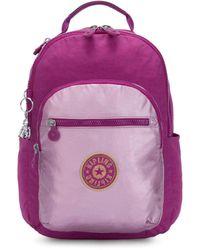 Kipling Seoul Xl Laptop Backpack - Purple