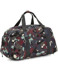 Kipling Large Duffle Bag With Adjustable Backpack Straps - Black