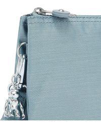 Kipling Extra Large Purse With Wristlet - Blue