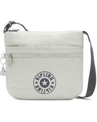 Kipling Shoulder Bag Across Body - Metallic