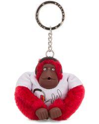 Kipling Collector Headset Monkey - Red