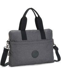 Kipling Laptop Bag With Adjustable Strap - Grey