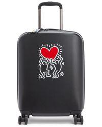 Kipling 4-wheeled Hard-shell Cabin Suitcase - Multicolour