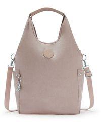 Kipling Hobo Bag Across Body With Removable Shoulder Strap - Multicolour