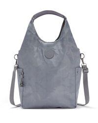 Kipling Hobo Bag Across Body With Removable Shoulder Strap - Grey