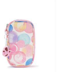 Kipling Medium Pencase Holds Up To 50 Pens - Pink