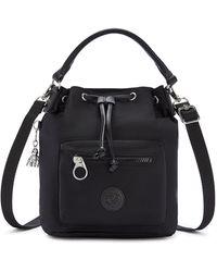Kipling Small Crossbody Convertible To Handbag/backpack - Black