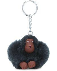 Kipling Monkey Keyhanger - Blue