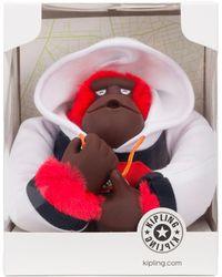 Kipling Hoody Monkey - Red