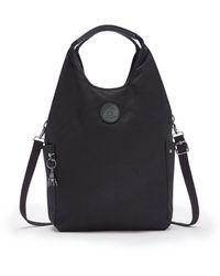 Kipling Hobo Bag Across Body With Removable Shoulder Strap - Black