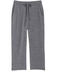 Nili Lotan Luna Lounge Drawstring Pant - Grey