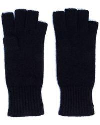 Khaite Kai Cashmere Glove - Blue