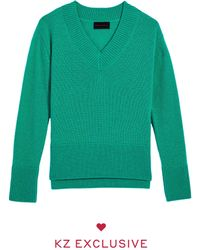 Kirna Zabete The V-neck - Green