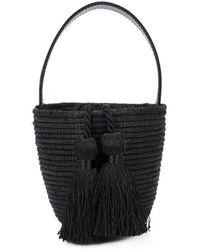 Cesta Collective Party Pail Mini Bucket Bag - Black