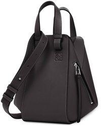 Loewe Hammock Bag In Black