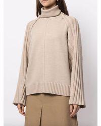 Peter Do Grace Convertible Sweater - Natural