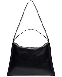 Aesther Ekme Black Duffle Leather Shoulder Bag