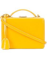 Mark Cross - Grace Box Bag - Yellow - Lyst