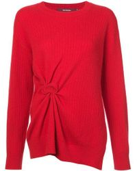 Sies Marjan - Ruched Ribbed Sweater - Lyst