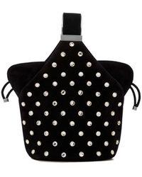 Bienen-Davis Kit Studded Top Handle Bag - Black