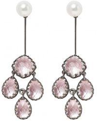 Larkspur & Hawk - Antoinette Girandole Drop Earrings - Lyst