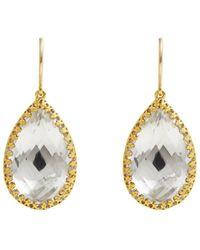 Larkspur & Hawk - Sophia Drop Earrings - White - Lyst