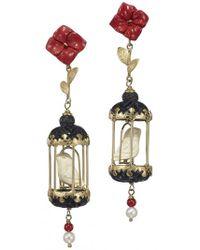 Of Rare Origin - Aviary Classic Mini Drop Earrings - Lyst