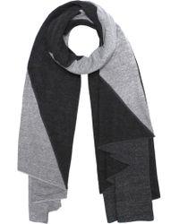Donni Charm - Tri Colour Sweatshirt Scarf - Lyst
